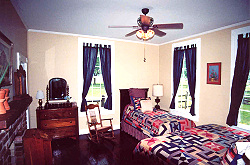 Master bedroom of the Inn